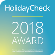 Holiday Check 2017 Award